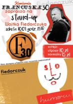 Wojciech Fiedorczuk Stand-up - plakat