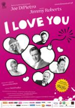 I LOVE YOU - plakat