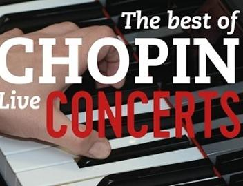 The best of Chopin live concerts - logo